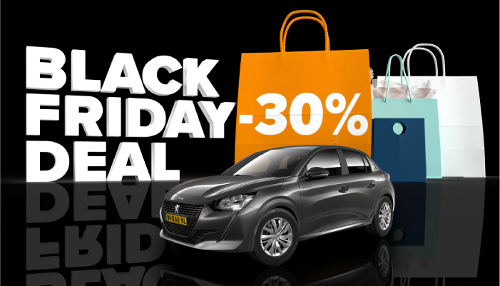Black Friday Deal 30% korting